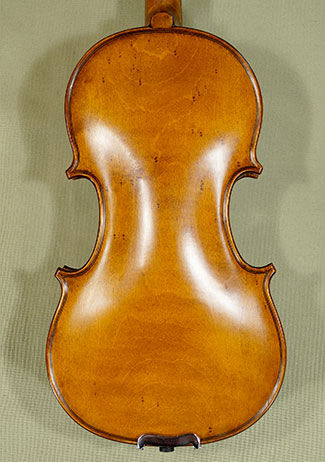 Antiqued 1/4 ADVANCED Student \'GEMS 2\' Bird\'s Eye Maple One Piece Back Violin  on sale