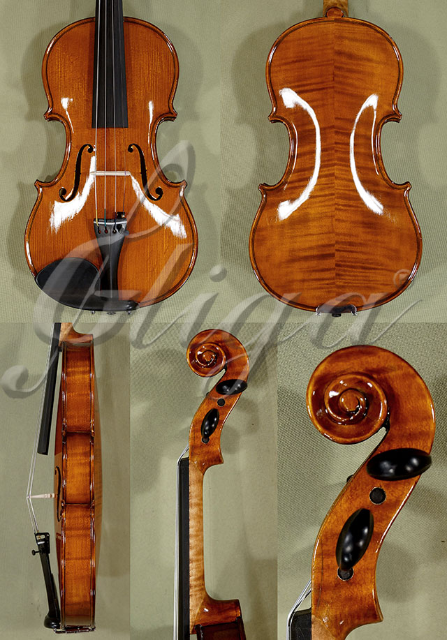 Shiny Antiqued 1/2 WORKSHOP 'GEMS 1' Violin
