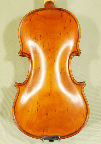 Antiqued 1/10 School 'GENIAL 1-Oil Special' Bird's Eye Maple One Piece Back Violin on sale