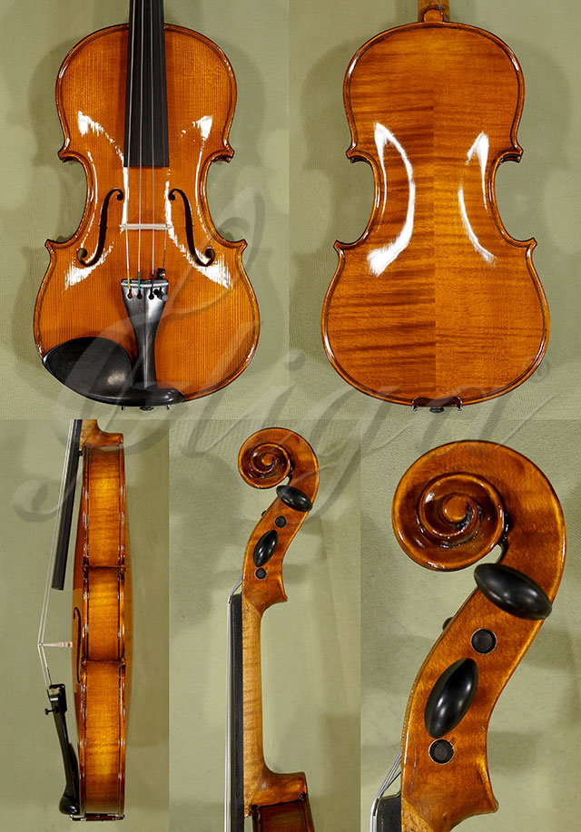 Shiny Antiqued 3/4 WORKSHOP 'GEMS 1' Violin