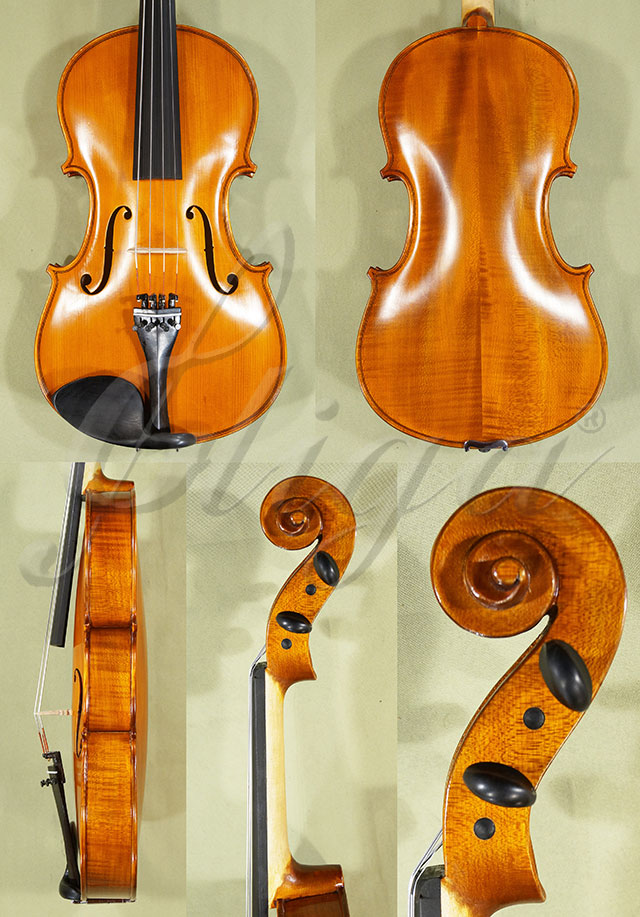 """Antiqued 16.5"""" School 'GENIAL 1-Oil' Viola"""