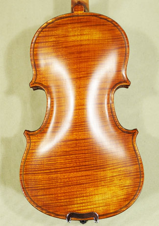 Antiqued 1/16 WORKSHOP \'GEMS 1\' One Piece Back Violin on sale