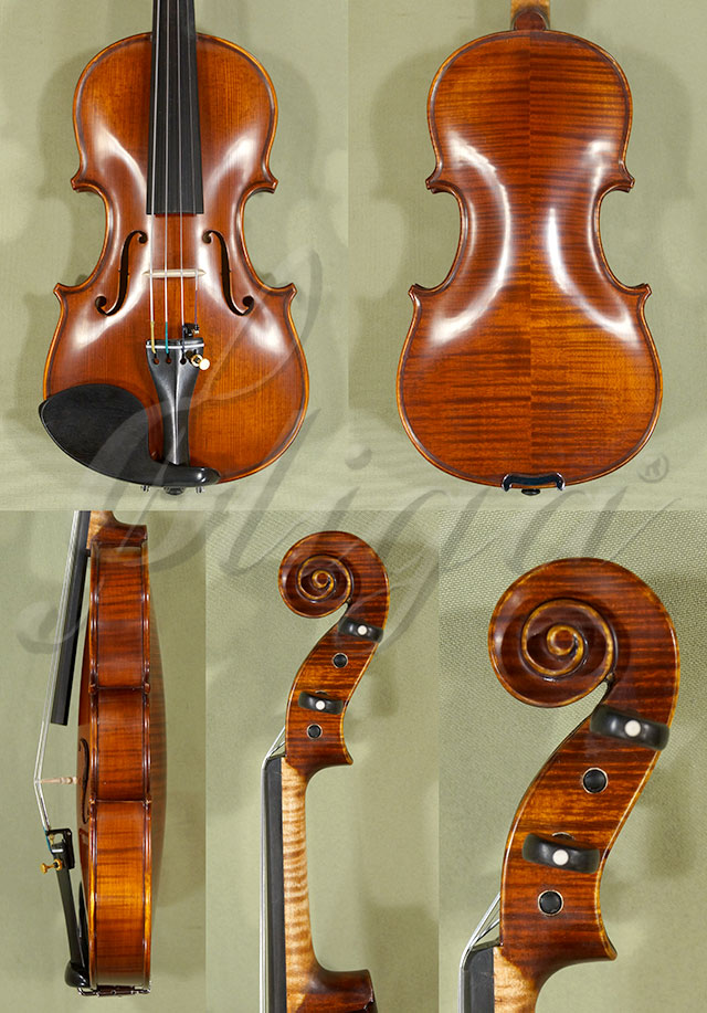 1/8 Gama Professional Handmade Violin Code C0422 - Antique Violin