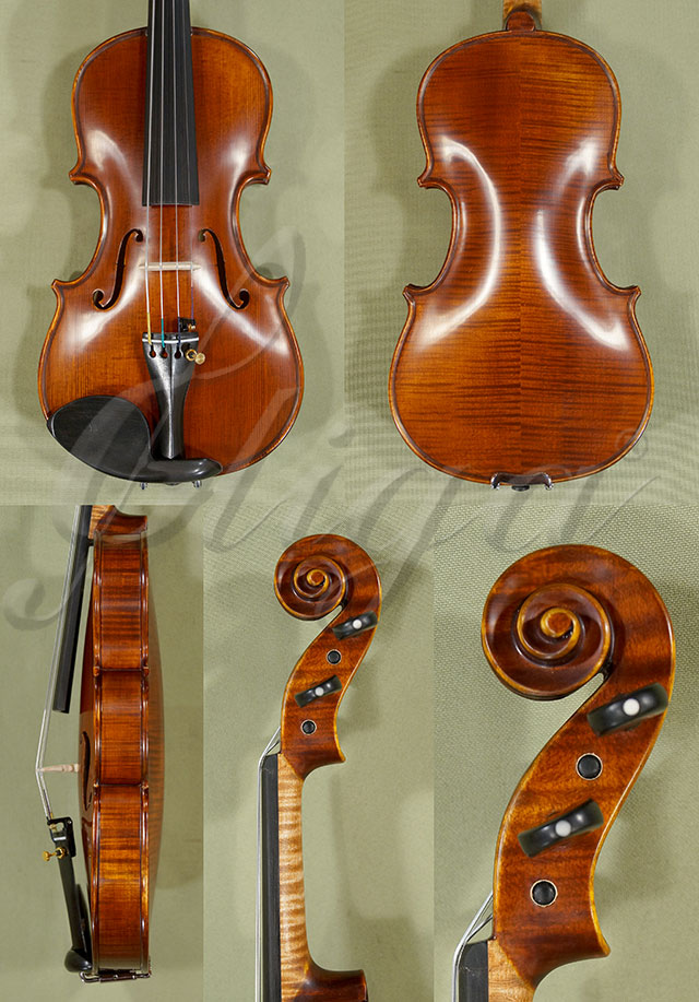 Antiqued 1/8 PROFESSIONAL 'GAMA' Violin