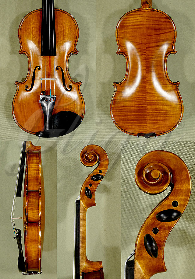 Antiqued 1/4 WORKSHOP 'GEMS 1' Left Handed Violin
