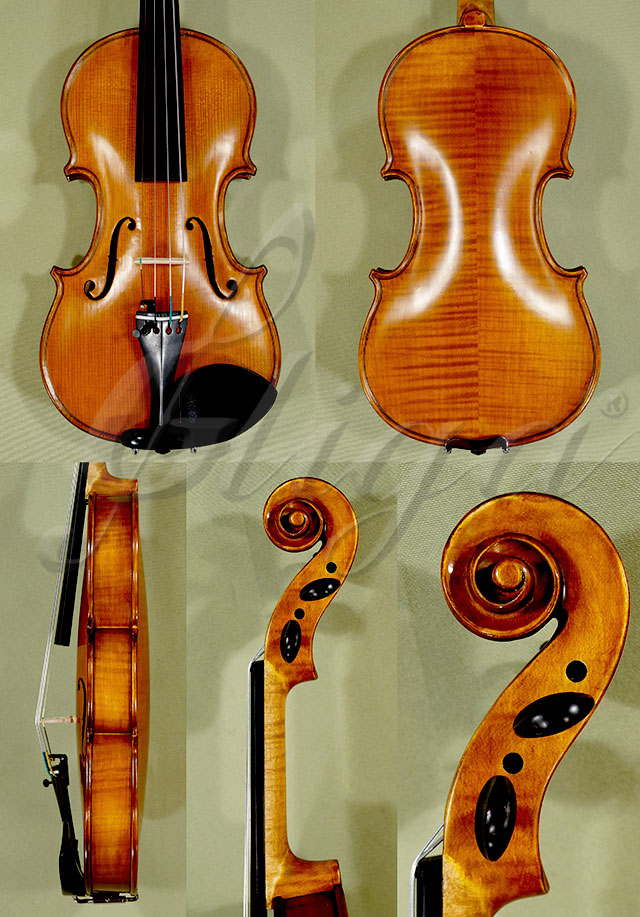 Antiqued 1/4 WORKSHOP 'GEMS 1' Left Handed Violin