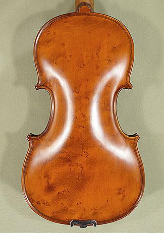 7/8 WORKSHOP \'GEMS 1\' Bird\'s Eye Maple One Piece Back Violin on sale