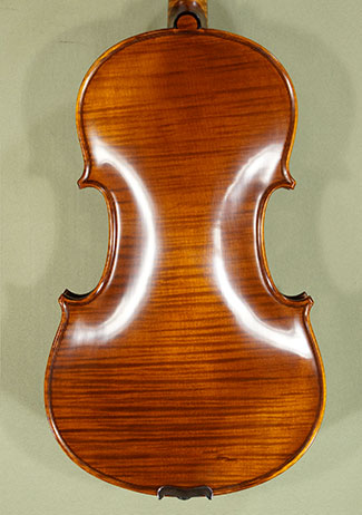 Antiqued 4/4 PROFESSIONAL \'GAMA Super\' One Piece Back Violin \'Guarneri\' on sale