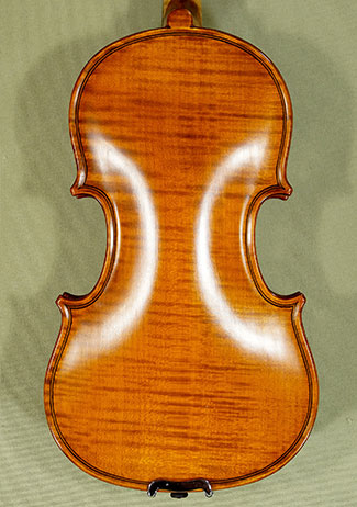 Antiqued 1/10 WORKSHOP 'GEMS 1' One Piece Back Violin on sale
