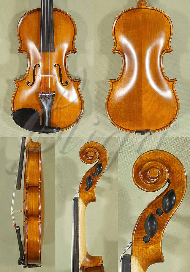 Antiqued 1/10 School 'GENIAL 1-Oil' Violin