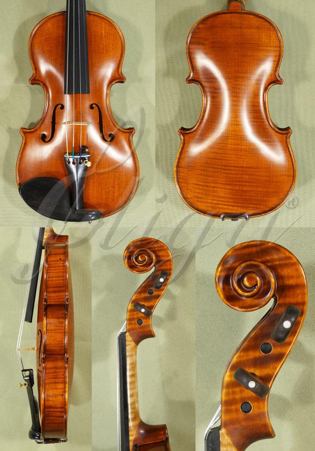 Antiqued 1/8 PROFESSIONAL 'GAMA Super' One Piece Back Violin