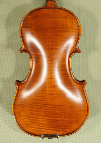 Antiqued 1/8 PROFESSIONAL \'GAMA Super\' One Piece Back Violin on sale