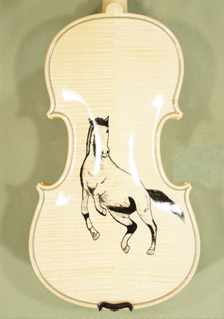 4/4 PROFESSIONAL \'GAMA\' Horse Violin on sale