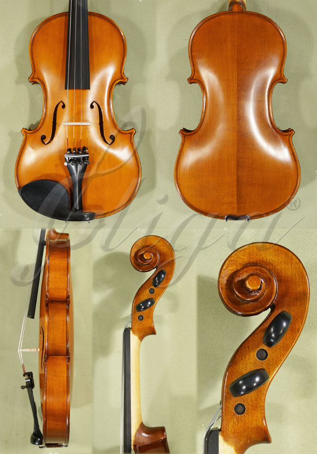 Antiqued 4/4 School 'GENIAL 1-Oil' Violin 'Guarneri'