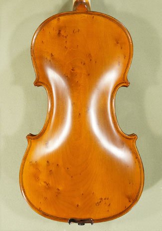 Antiqued 4/4 School \'GENIAL 1-Oil Special\' Bird\'s Eye Maple One Piece Back Violin on sale
