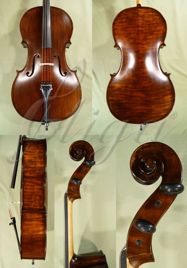 Stained Antiqued 4/4 School 'GENIAL 1-Oil' Cello