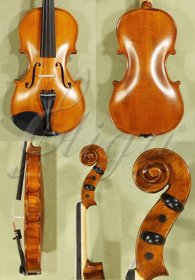 Antiqued 7/8 School 'GENIAL 1-Oil' Violin