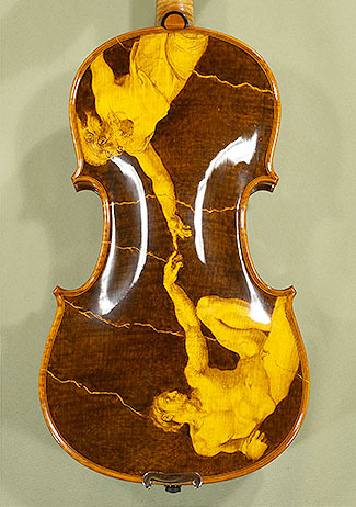Shiny 4/4 MAESTRO VASILE GLIGA One Piece Back Violin on sale