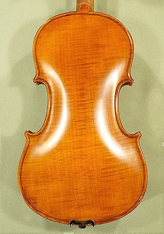 Antiqued 4/4 WORKSHOP \'GEMS 1\' One Piece Back Violin \'Guarneri\' on sale