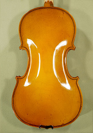 4/4 School \'GENIAL 2-Nitro Special\' Bird\'s Eye Maple One Piece Back Violin on sale