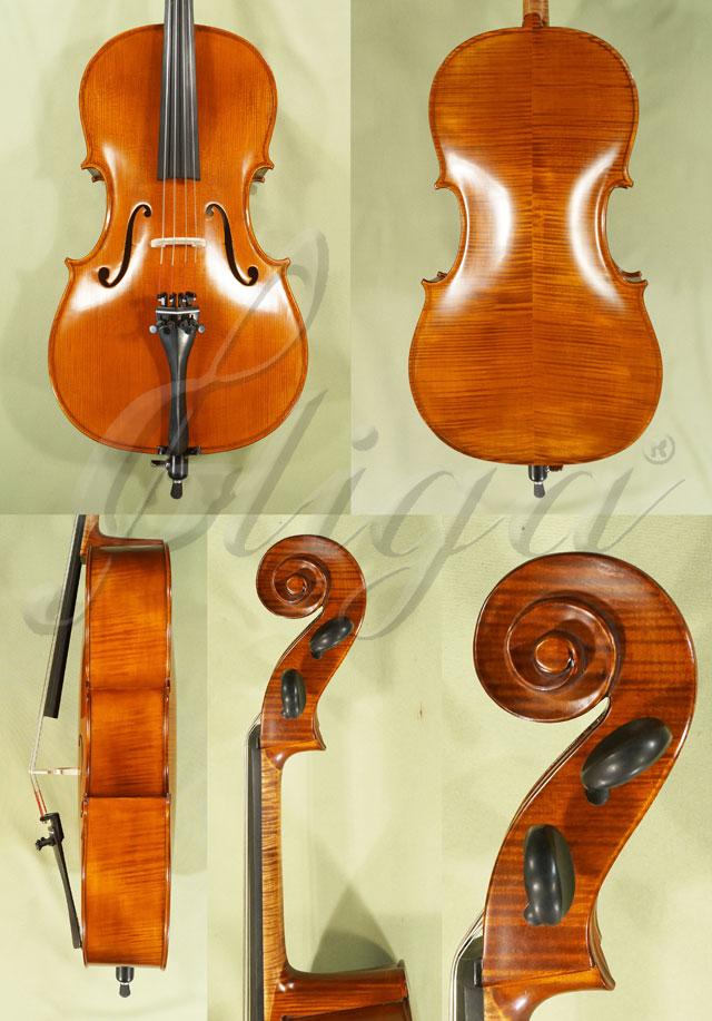 1/4 Gliga Gems 1 Intermdiate Handmade Cello Code C3831