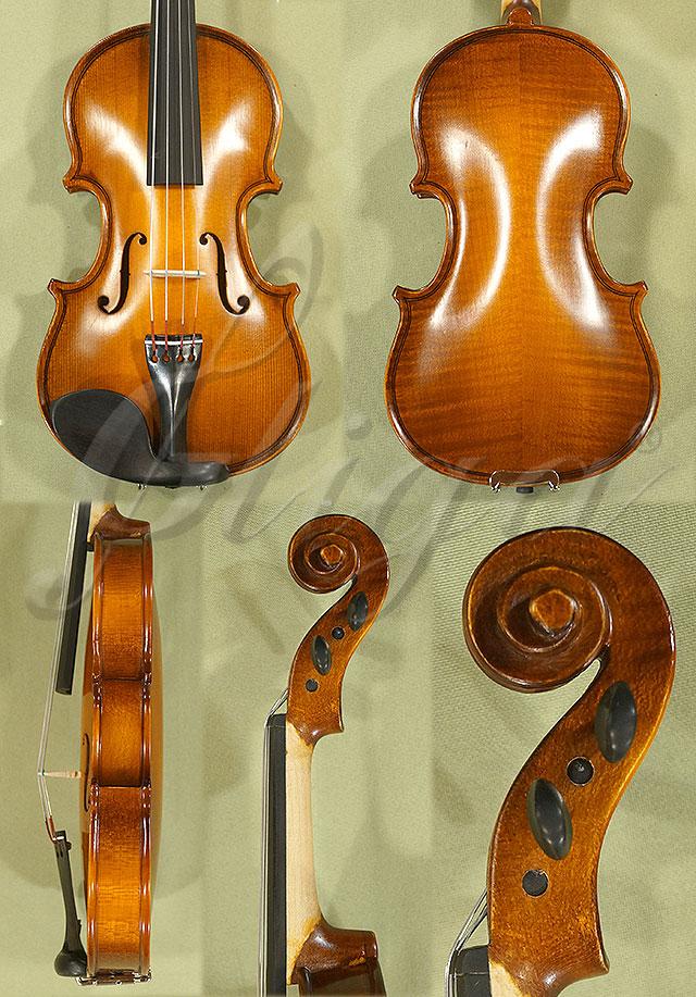 Antiqued 1/16 School 'GENIAL 1-Oil' Violin