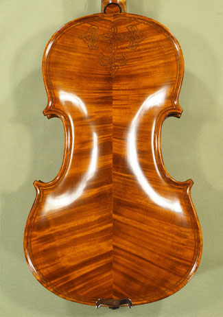 4/4 MAESTRO VASILE GLIGA Inlaid Double Purfling with Flower Design Violin on sale