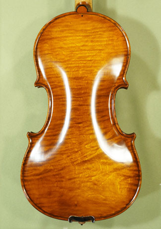 Antique Scratched 4/4 MAESTRO VASILE GLIGA One Piece Back Violin 'Pietro Guarneri of Mantua 1704' on sale
