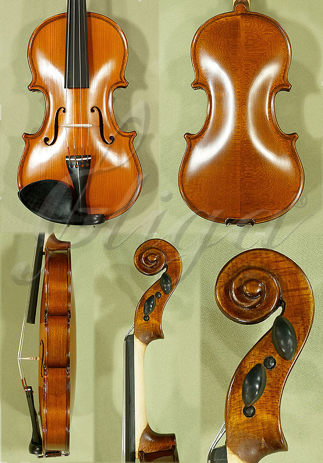 Antiqued 1/10 School 'GENIAL 1-Oil' Violin