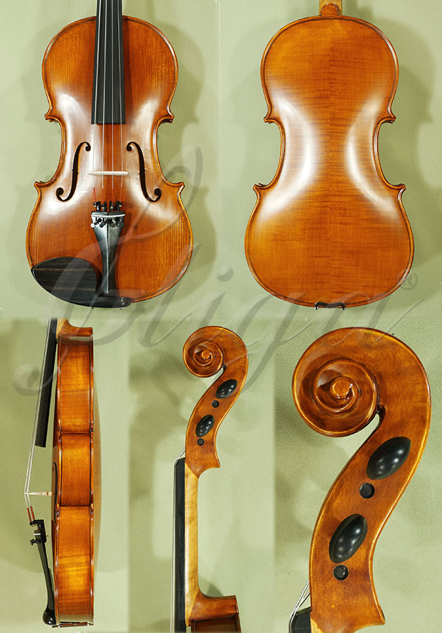 "Antiqued 16"" ADVANCED Student 'GEMS 2' Viola"
