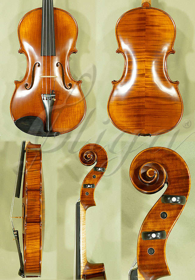 "Antiqued 16.5"" PROFESSIONAL 'GAMA' Viola"