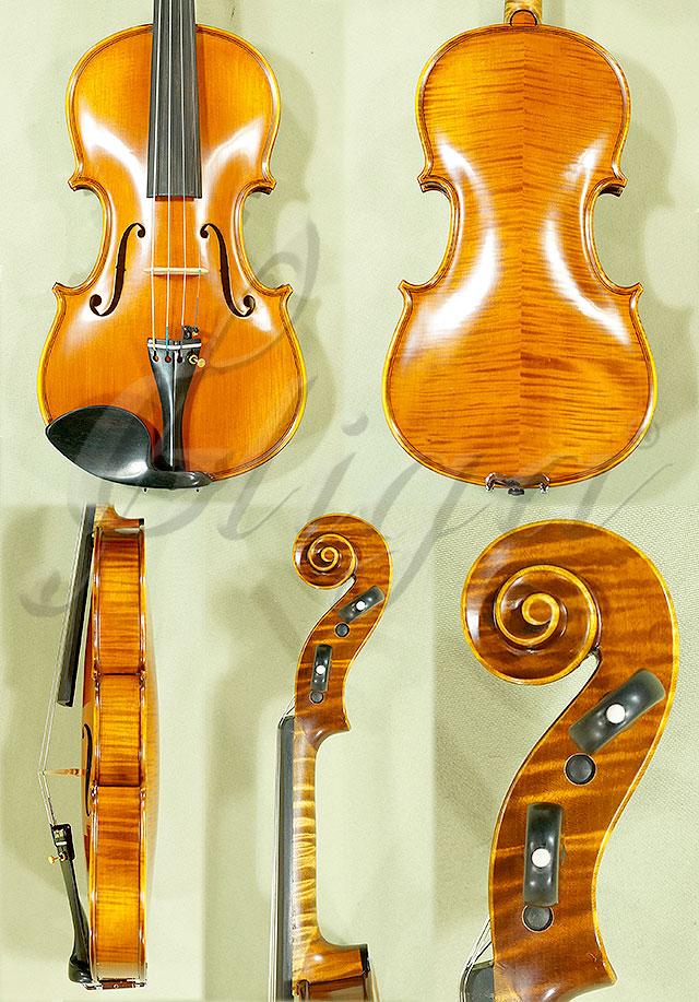 Antiqued 3/4 PROFESSIONAL 'GAMA Super' Violin