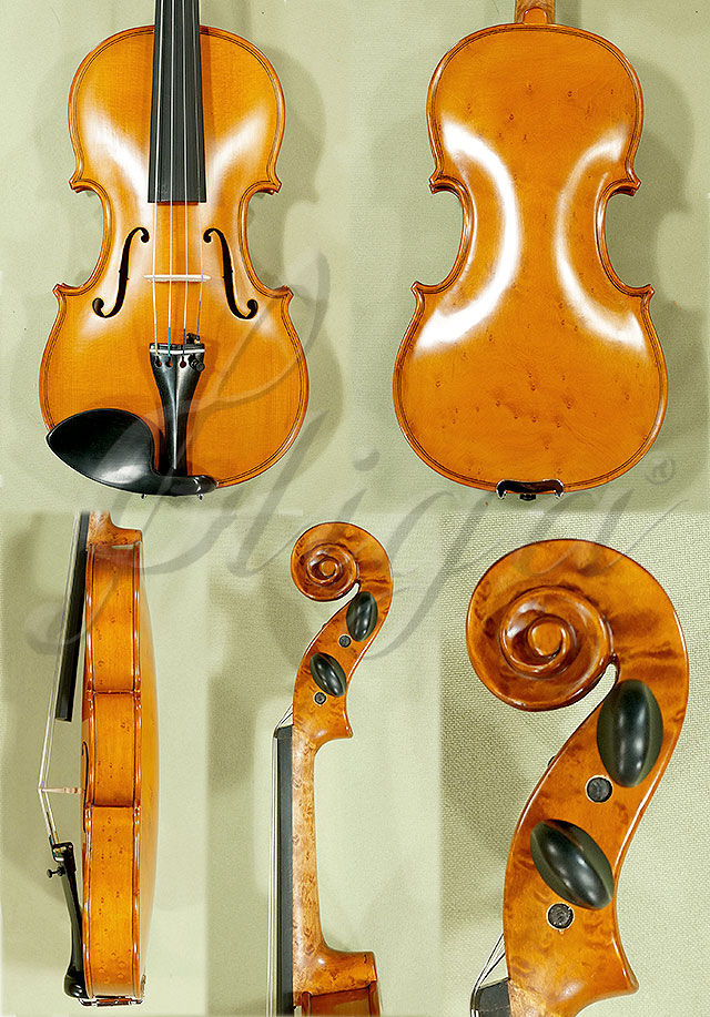 1/2 WORKSHOP 'GEMS 1' Bird's Eye Maple One Piece Back Violin
