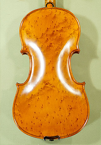 4/4 MAESTRO VASILE GLIGA Bird\'s Eye Maple One Piece Back Violin on sale