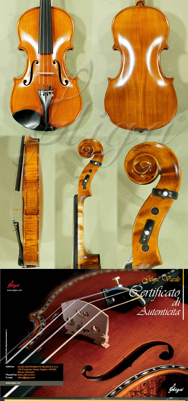4/4 MAESTRO VASILE GLIGA Willow Violin