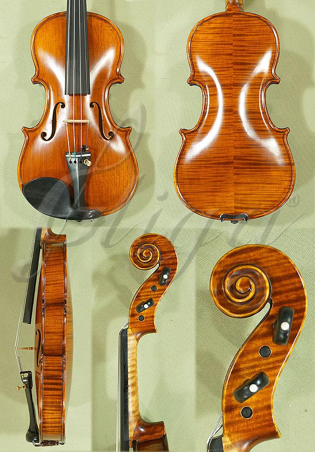 Antiqued 1/8 PROFESSIONAL 'GAMA' Violin