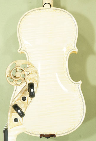 Wood Color 4/4 MAESTRO VASILE GLIGA Scroll One Piece Back Violin on sale