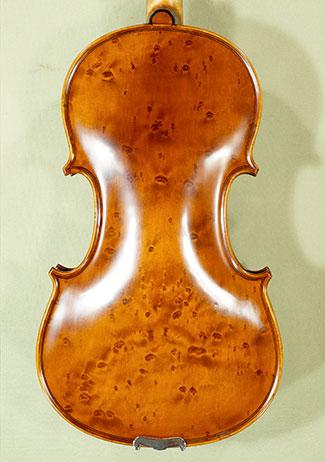 Antiqued 4/4 MAESTRO GLIGA Bird\'s Eye Maple One Piece Back Violin on sale