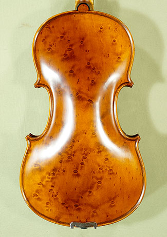 Antiqued 4/4 MAESTRO GLIGA Bird\'s Eye Maple One Piece Back Violin on sale