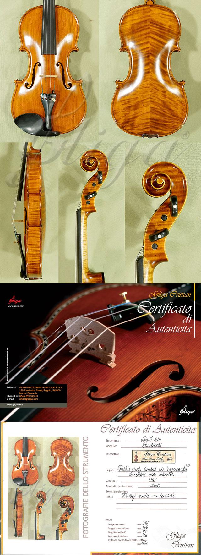 Scratched 4/4 MAESTRO VASILE GLIGA Violin