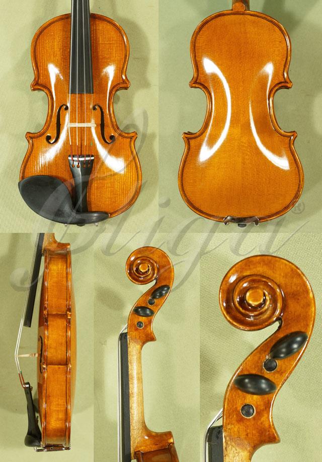 Shiny Antiqued 1/32 School 'GENIAL 1-Oil' Violin