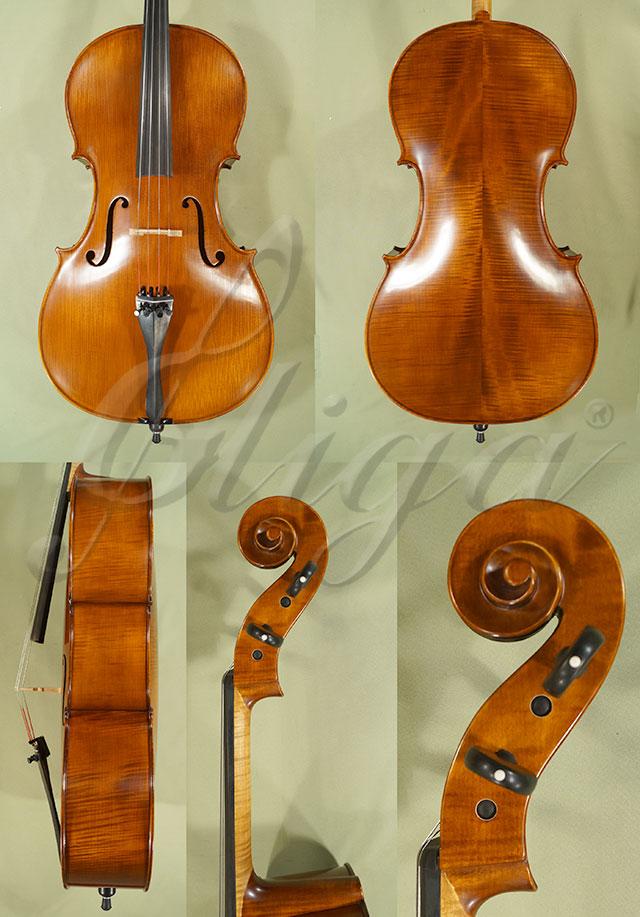 Antiqued 4/4 PROFESSIONAL 'GAMA' Cello 'Piatti 1726'