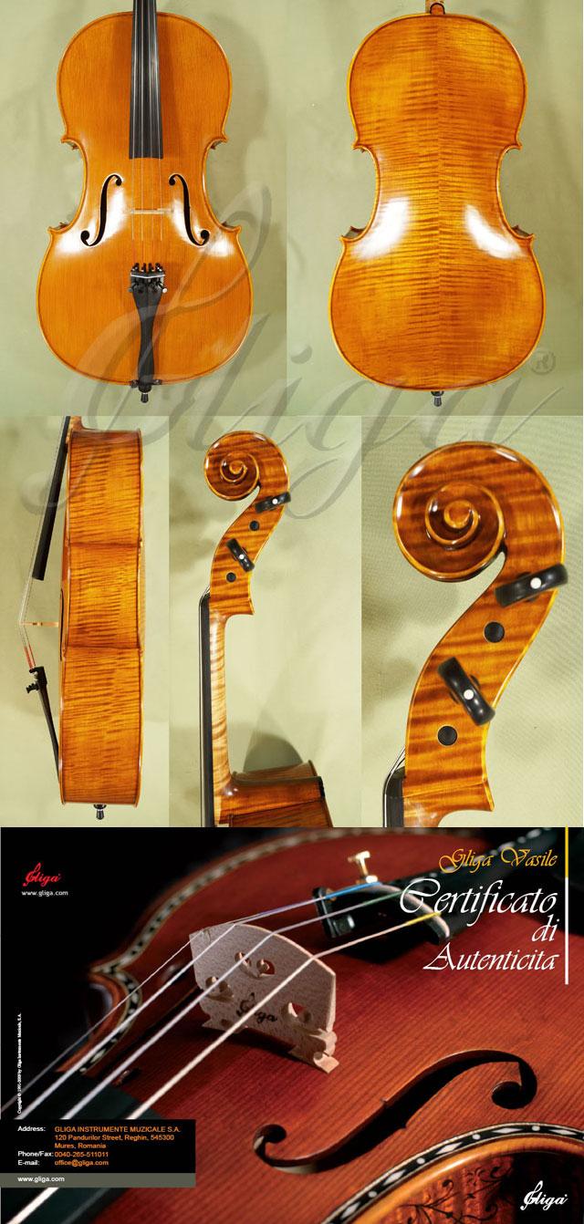 Antiqued 4/4 MAESTRO GLIGA Cello