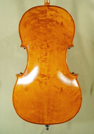 4/4 PROFESSIONAL \'GAMA\' Bird\'s Eye Maple Cello on sale