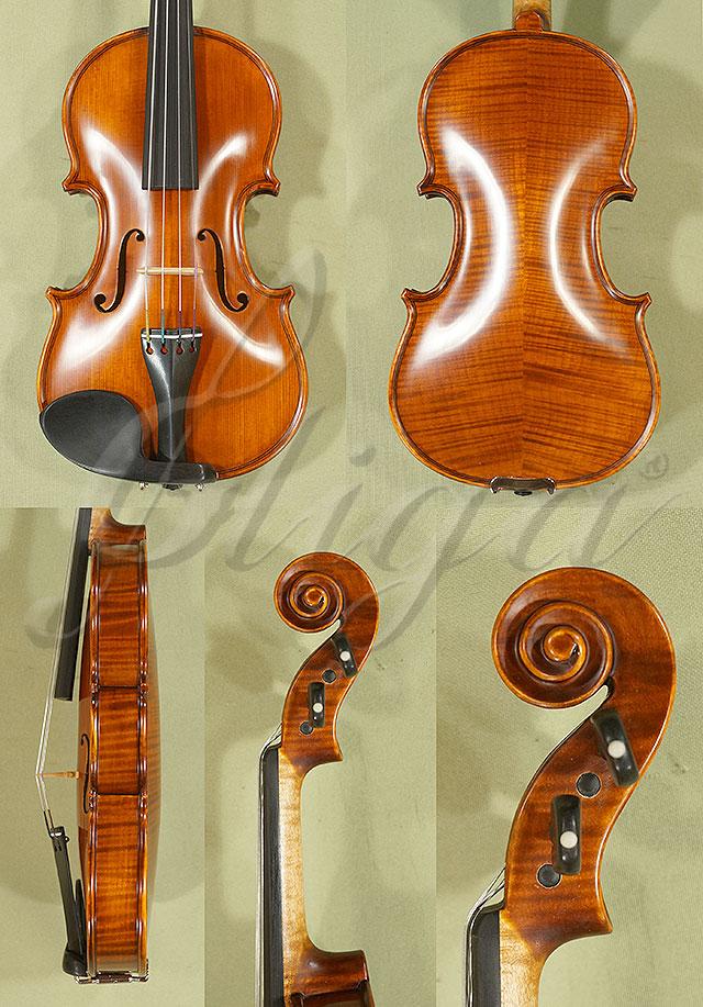 Antiqued 1/10 PROFESSIONAL 'GAMA' Violin
