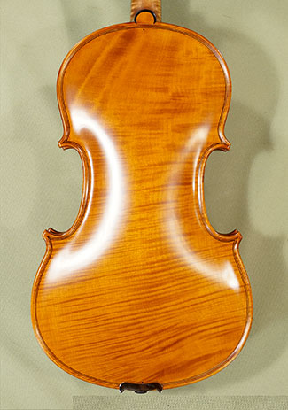 4/4 MAESTRO VASILE GLIGA Left Handed One Piece Back Violin \'Guarneri\' on sale