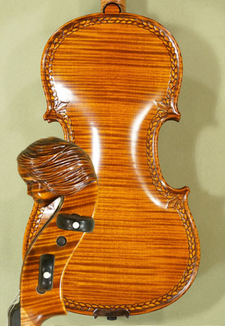 4/4 MAESTRO VASILE GLIGA \'Girl\' Scroll One Piece Back Violin on sale