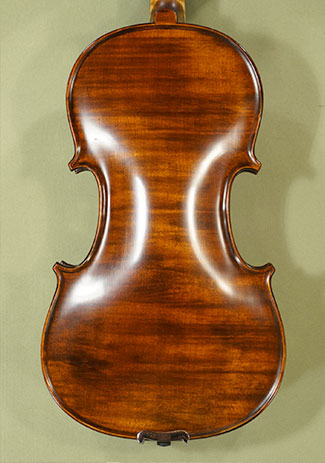 Stained Antiqued 4/4 PROFESSIONAL \'GAMA Super\' One Piece Back Violin on sale