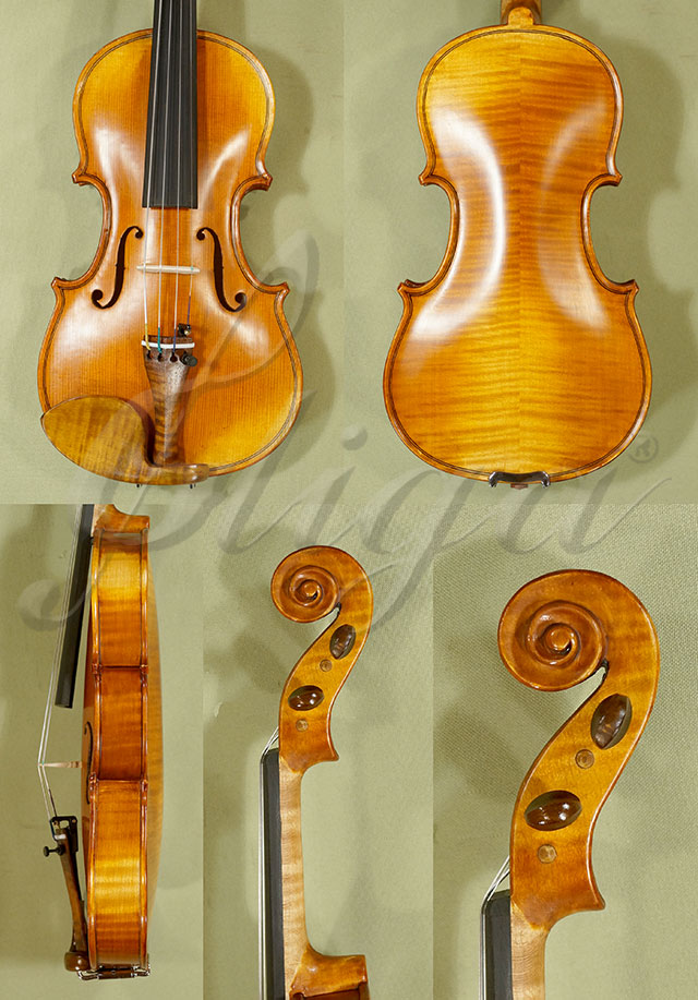Antiqued 1/8 ADVANCED 'GENOVA 3' Violin