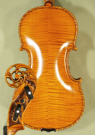 4/4 MAESTRO VASILE GLIGA Scroll Violin